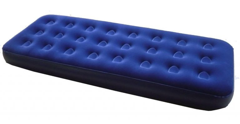 Zaltana Single Size Air mattress Navy Blue, AMT-S